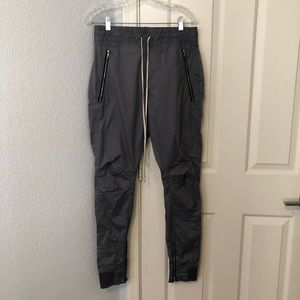 Represent British made grey track pants size small